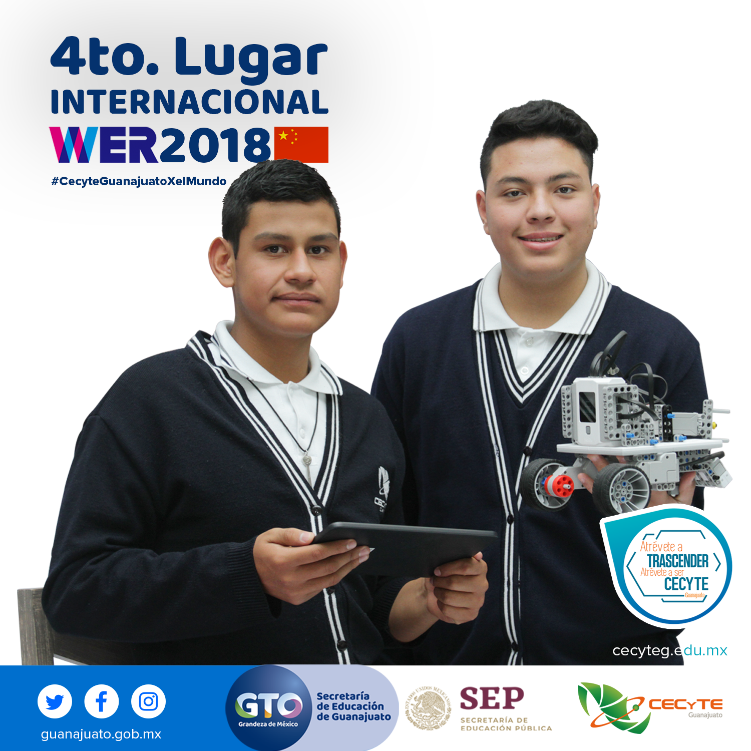 4to Lugar Internacional WER 2018